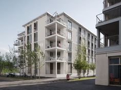Multi Story Building, Arquitetura, Facades, Building Ideas, Architecture, Homes, Mockup