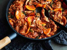 Slow cooked lamb shanks are paired with fragrant star anise and sweet potato providing a wholesome and satisfying winter meal. Healthy Low Carb Recipes, Healthy Cooking, Meat Recipes, Healthy Tips, Yummy Recipes, Slow Cooked Lamb Shanks, Sweet Potato Recipes, Winter Food, Main Meals