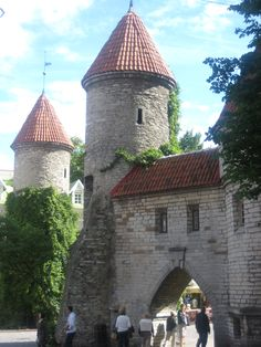 Gatehouse at Talinn, Estonia
