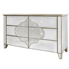 Home & Garden Enthusiastic Diamond Glitz Mirrored Crystal Crushed Leather Diamante Dressing Table Stool