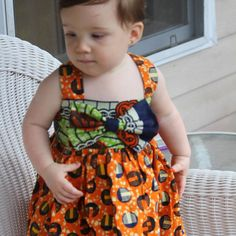 Check out this item in my Etsy shop https://www.etsy.com/listing/240647330/sleeveless-bow-dress-is-handmade-using