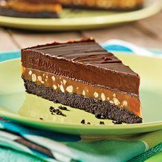 Recepti i Ideje Fondant Chocolat Caramel, Caramel Mud Cake, Caramel Tart, No Bake Desserts, Easy Desserts, Dessert Recipes, I Love Chocolate, Chocolate Treats, Mississippi Mud Pie