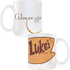 One of my favorite discoveries at WBShop.com: Gilmore Girls Luke's Diner Coffee Mug