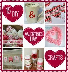 15 Easy Valentines Day Crafts | www.inspirationformoms.com #valentinesdaycrafts #valentinesday