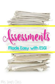 Assessments Made EAS