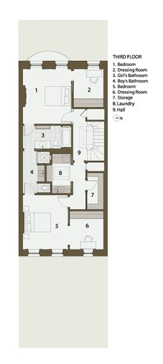 brownstone row house floor plans - Google Search   Architecture ...