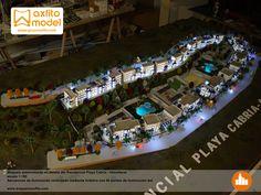 Maqueta interactiva maqueta automatizada, led´s inmobiliaria almuñecar maquetas en granada mayfo model maker