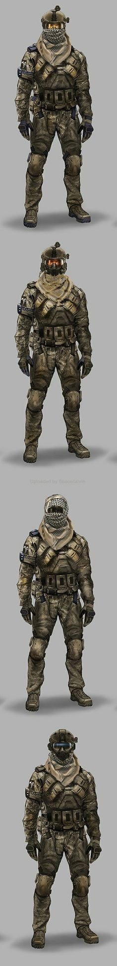 Early Black Ops 2 Concepts_ASSAULT_desert_alt by Eric Chiang