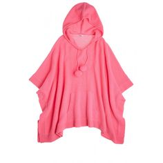 Rusine Hooded Cashmere Sweater in Wild Rose