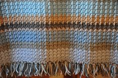 Ravelry: Henry's Waffle Blanket pattern by HannahCross £2.75 GBP about $4.41