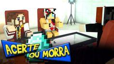 Minecraft: ACERTE OU MORRA - EMPATE INFINITO?! (c/ Nenha e Miss)