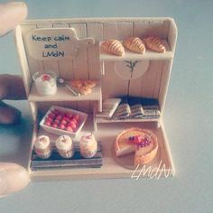 Miniature food ♡ ♡ By Natalie Davis