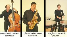 Elk instrument heeft een klankbron, iets dat zorgt dat de lucht gaat trillen. Daardoor gaat ons trommelvlies trillen en horen we dat als geluid.