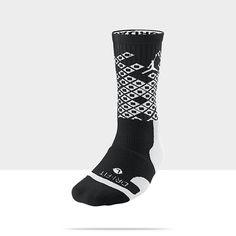 basketball socks | Jordan Players Crew Basketball Socks (Large/1 Pair)