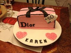 Dior cake  Pinned from PinTo for iPad 