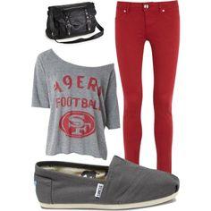 49ers Game Fashion