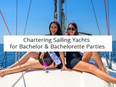 A sailing yacht is a perfect place to organize your bachelorette or bachelor party. It cannot get more private than that while the scenery is beyond compare.  #sailing #babasails #yachts #tips #greece #halkidiki #thessaloniki #SKG #travel #tour