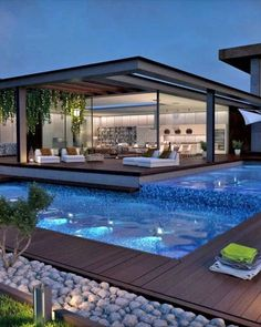 21 fascinating outdoor areas - home design - (over 21 fascinating outdoor . - 21 fascinating outdoor areas – Home Design – (over 21 fascinating outdoor areas) – # Outdoor - Luxury Modern Homes, Luxury Homes Dream Houses, Dream Homes, Beautiful Modern Homes, Modern Mansion, Modern Style Homes, Cool Swimming Pools, Swimming Pool Designs, Dream Home Design