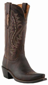 Lucchese Since 1883 - M5002 - Ladies Lucchese Boots with Ana Stitch. I want these soooo bad