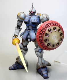 MG 1/100 YMS-15 Gyan with M'Quve: Work by modellover.