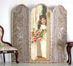 Victorian girl screen