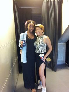 At Rihanna`s concert