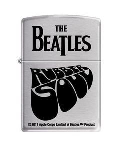 Zippo 6682 Classic The Beatles Rubber Soul Brushed Chrome Finish Windproof Pocket Lighter Zippo Collection, Rubber Soul Beatles, Apple Corps, Brand Name Watches, Cool Lighters, Pipes And Cigars, Pocket Light, Zippo Lighter, The Beatles