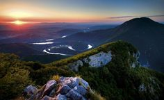 Ovčarsko-kablarska gorge West Zapadna Morava river Serbia Ovčar Kablar