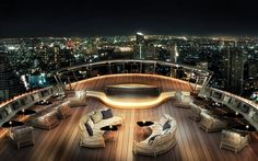 The Best Views of Bangkok Are at the World's Highest Outdoor Whiskey Bar - Condé Nast Traveler