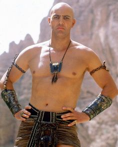 Imhotep from The Mummy.