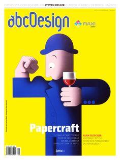 Capa da edição 29 da Revista abcDesign