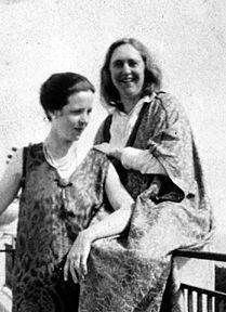 Djuna Barnes and Natalie Barney,  c. 1930