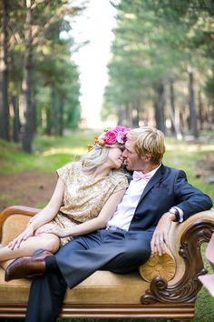 Hochzeit in Gold ~ The Secret Shoot ~ Teil 1 | www.brautsalat.de