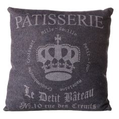 I pinned this Patisserie Pillow from the Zingaro event at Joss and Main!