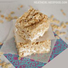 Ultimate Rice Crispy Treats | Heather Likes Food