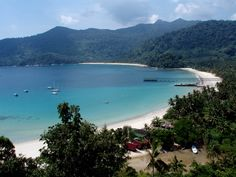 Juara, Tioman Islands. We shared this beach with only two others for an entire week