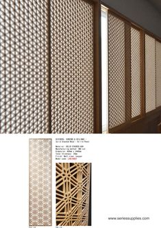We supply and customize screen and wall panel in different sizes and thickness as well as using different material such as MDF Panel , PVC Foamboard , Stainless Steel and Solid Wood . Wall Design, House Design, Innovative Systems, Decorative Screens, Panelling, Interior Walls, Pattern Art, Ash, Solid Wood