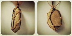 Ecocrafta: Macrame Wrapping : X shape tutorial