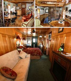 Wish I could find some more info on this one.  caboose house interior remodels