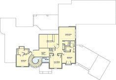 Media Room, Game Room and a Playroom - 100023SHR floor plan - 2nd Floor
