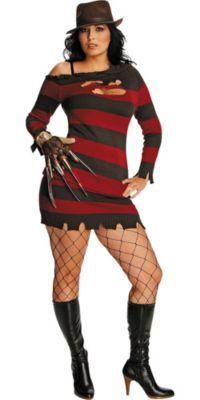Adult Ms. Krueger Costume Plus Size - Nightmare on Elm Street