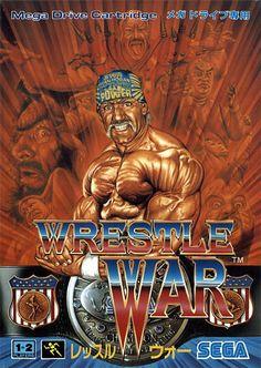Wrestling Games, Wrestling Posters, Robocop 2, Japanese Wrestling, Nintendo, Wwe Pictures, 8 Bits, Sega Mega Drive, Superman Wonder Woman