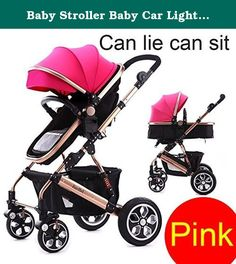 Baby Stroller Baby Car Light Folding Baby Stroller Can Lie Can Sit (Pink). jiaobei Stroller jiaobei takes compact, lightweight strolling to new heights. Suitable from birth to 25kg Safety • 5 point safety harness • Durable yet lightweight frame • Engineered suspension for a smooth ride • Lockable swivel wheels • Easy on/off footbrake Multi-Use • 2 way rear and front facing seat • 4 recline to upright positions • Suitable for cafe or high chair substitute Comfort & Convenience • One handed...