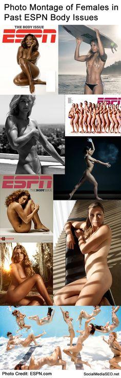 past females ESPN bodies photo montage