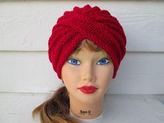 Fashion turban Womens turban crochet Turban hats by Ritaknitsall