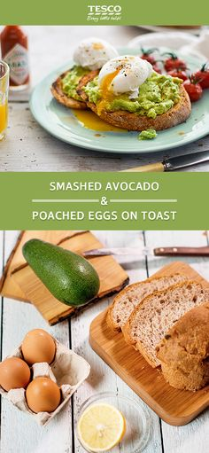 This nutritious and delicious avocado recipe is perfect for a lazy breakfast or a tasty snack when you need a little something to keep you going. Prep time: 15 minutes Cook time: 5 minutes Servings: 2 people