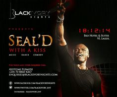 THE WORLD AT LARGE: British singer Seal Live in Lagos December 18th @ ...