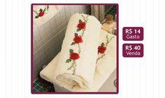 Artesanato: aprenda a bordar toalhas - Casa - MdeMulher - Ed. Abril