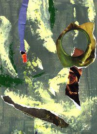 Espiritualidad Contemporánea: TRÁNSITO poema de Moni Indiveri de Vega collage de José Vega