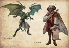Bestiary 3 monsters by ~DevBurmak on deviantART